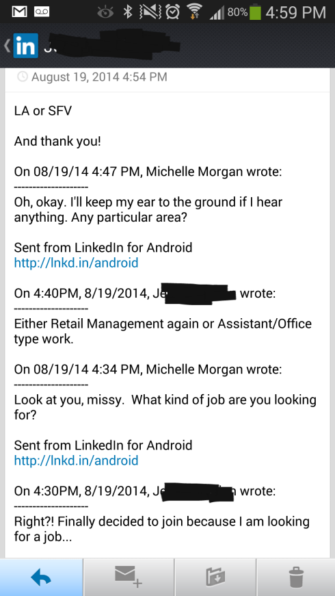 Looking On LinkedIn